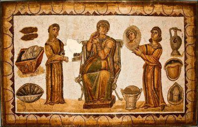 Roman slave & master