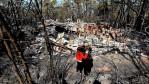 Fire damage - Oct 2013