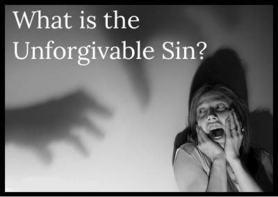 Unforgivable sin 1