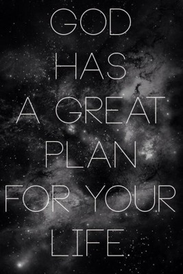 God's plan for you 400px