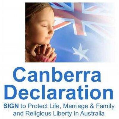 Canberra declaration 1