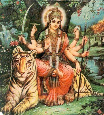 Durga - goddess of war 400px