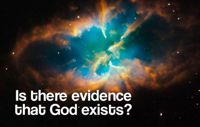 Does God exist 200pxgeorgehawkeThe universe and objective moral values are better explained by the existence of God