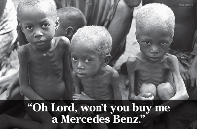 Oh lord won t you buy me a mercedes benz george 39 s journal for Lord won t you buy me a mercedes benz