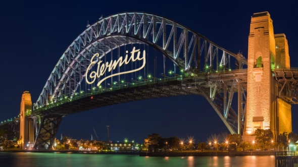 eternity on harbor bridge