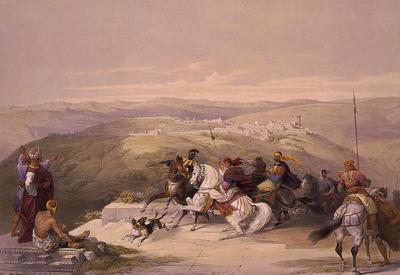 samaria - david roberts 1839 400px