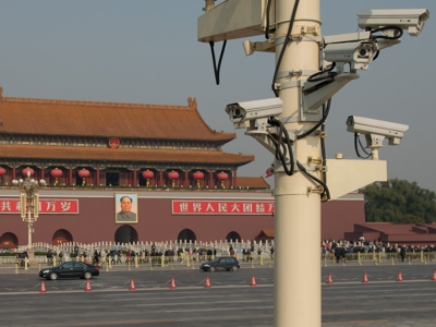 security cameras tiananmen square beijing 400px