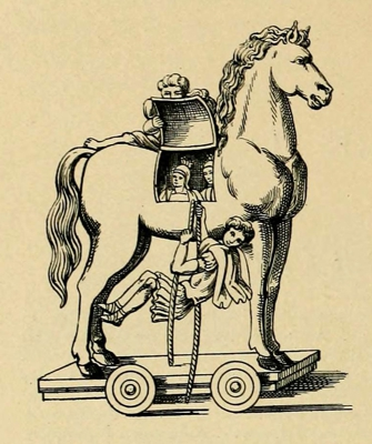 trojan horse as depicted in vergilius vaticanus 400px