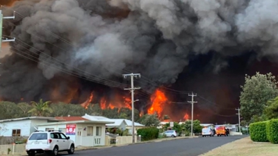Last night there were 26 emergency-level fires burning across NSW and Victoria