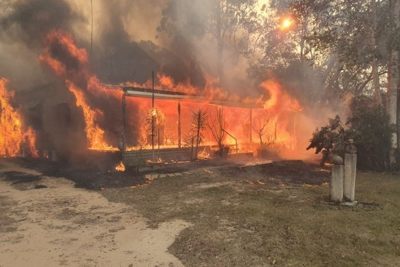In NSW this fire season, so far 1,365 homes have been destroyed