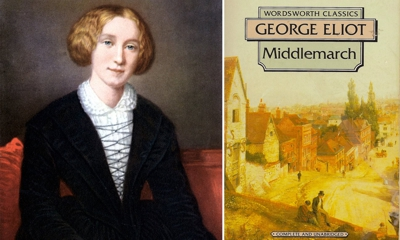 Mary Evans wrote under the name George Eliot