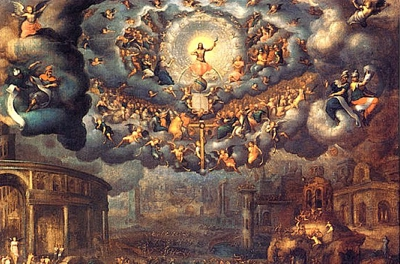 The last judgment (cropped) - Jean Cousin 1560