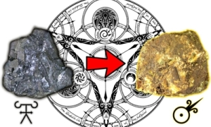 Alchemists believed that lead could be transformed into gold