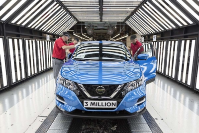 3 millionth Nissan Qashquai assembled at Sunderland, UK