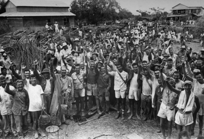 In 1945 510 prisoners were rescued at Cabanatuan, Philippines
