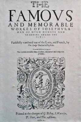 The works of Josephus translated by Thomas Lodge (1602)