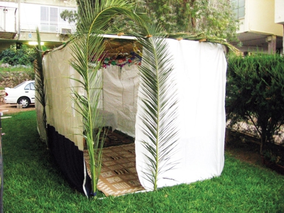 Shelter prepared for the Festival of Shelters