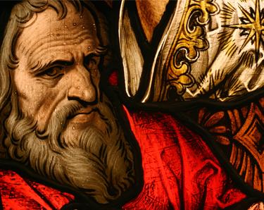 Medieval depiction of Gamaliel