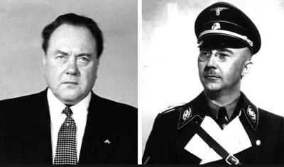 Dr Felix Kersten and Heinrich Himmler