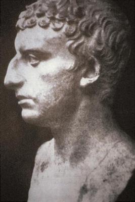 A 1st-century Roman bust thought to be of Josephus