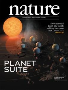 The scientific journal Nature
