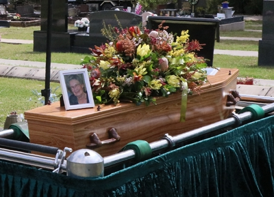 At Christian funerals we celebrate Christ's victory over death